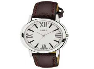 Timex Analog Silver Dial Mens Watch