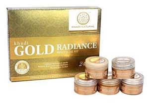 Khadi Natural Gold Radiance Mini Facial Kit At Rs.224
