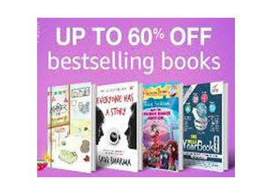 Bestselling books Up to 60% Off From Amazon