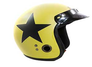 Open Face Helmet