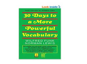 30 Days to More Powerful Vocabulary At Rs.55