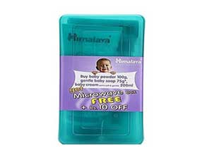 Himalaya Baby Gift Combo in Microwave box pack