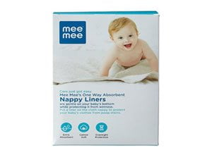 Mee Mee One-Way Nappy Liners 100 Liners