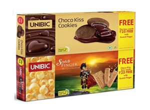 Unibic Scotch Finger with Free Choco Kiss