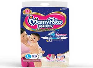 diapers monthly pack