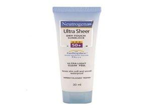 Neutrogena Ultra Sheer Dry Touch Sunblock