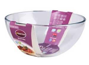 Alorno Borosilicate Glass, Mixing Bowl