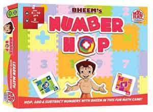 Madrat Games Chhota Bheem Number Hop