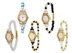 Oleva Set Of 5 Pearl Watches At Rs.799