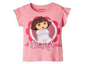 Dora Girls' T-Shirt At Rs.224
