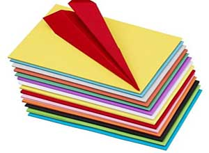 100 pcs Color Sheets for Copy Printing Papers