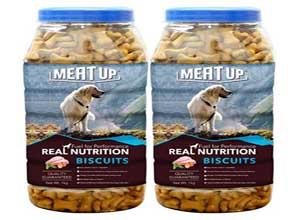 Meat Up Chicken Flavour Real Chicken Biscuit