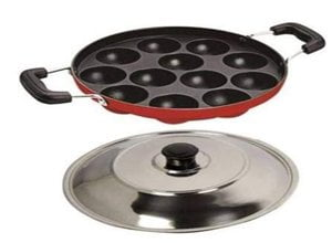 Non Stick APPAM Maker 12 Curve with LID