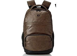 Gear Vintage2 Anti Theft Faux Leather Laptop Backpack