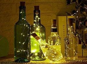 20 LED Wine Bottle Cork Lights