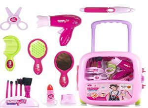 Makeup Case and Cosmetic Set Suitcase