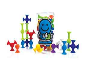 Fat Brain Toys Squigz Multi Color 24 Pieces