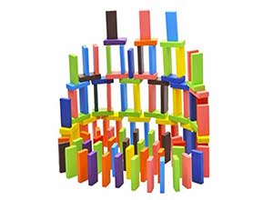 Standard Wooden 12 Colors Set 120 Pieces