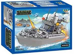 Webby Army Patrol Boat Building Blocks