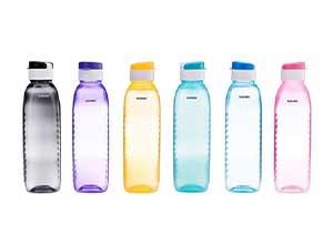 Amazon Brand Solimo Plastic Water Bottle Set
