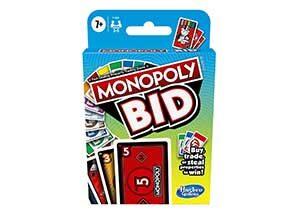 monopoly bid game