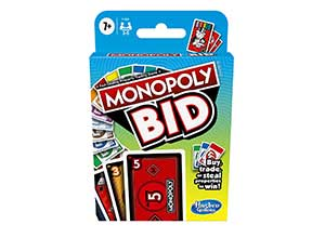 MONOPOLY Quick-Playing Card Game For 4 Players