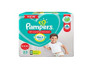 pampers xxxl 23 pants